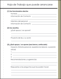 Worksheet Self Advocacy Worksheets brc advocating with your elected officials worksheet 1 spanish